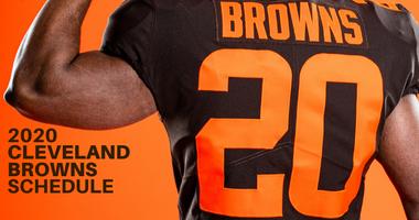 Cleveland Browns 2020 schedule