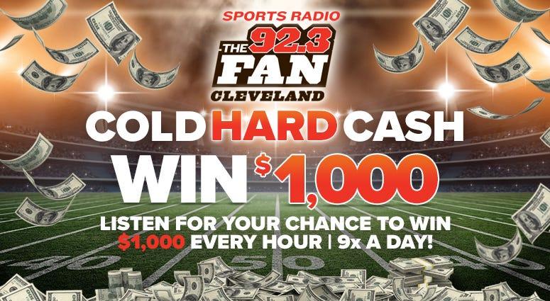 cold hard cash fan clevland