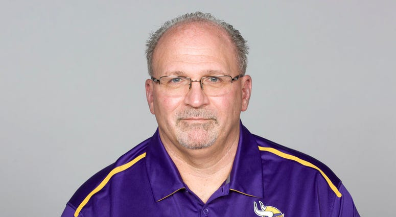 He had been the Vikings' offensive line coach since 2016. Sparano began his NFL coaching career in 1999 and had stints as a head coach with the Miami Dolphins and Oakland Raiders.