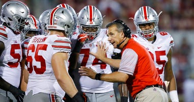 Meyer's current suspension and previous paid leave have restricted him from talking football with his staff and athletes during August with one exception, a team meeting the day after the suspension was announced.