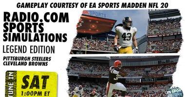 Browns Steelers Madden Sim