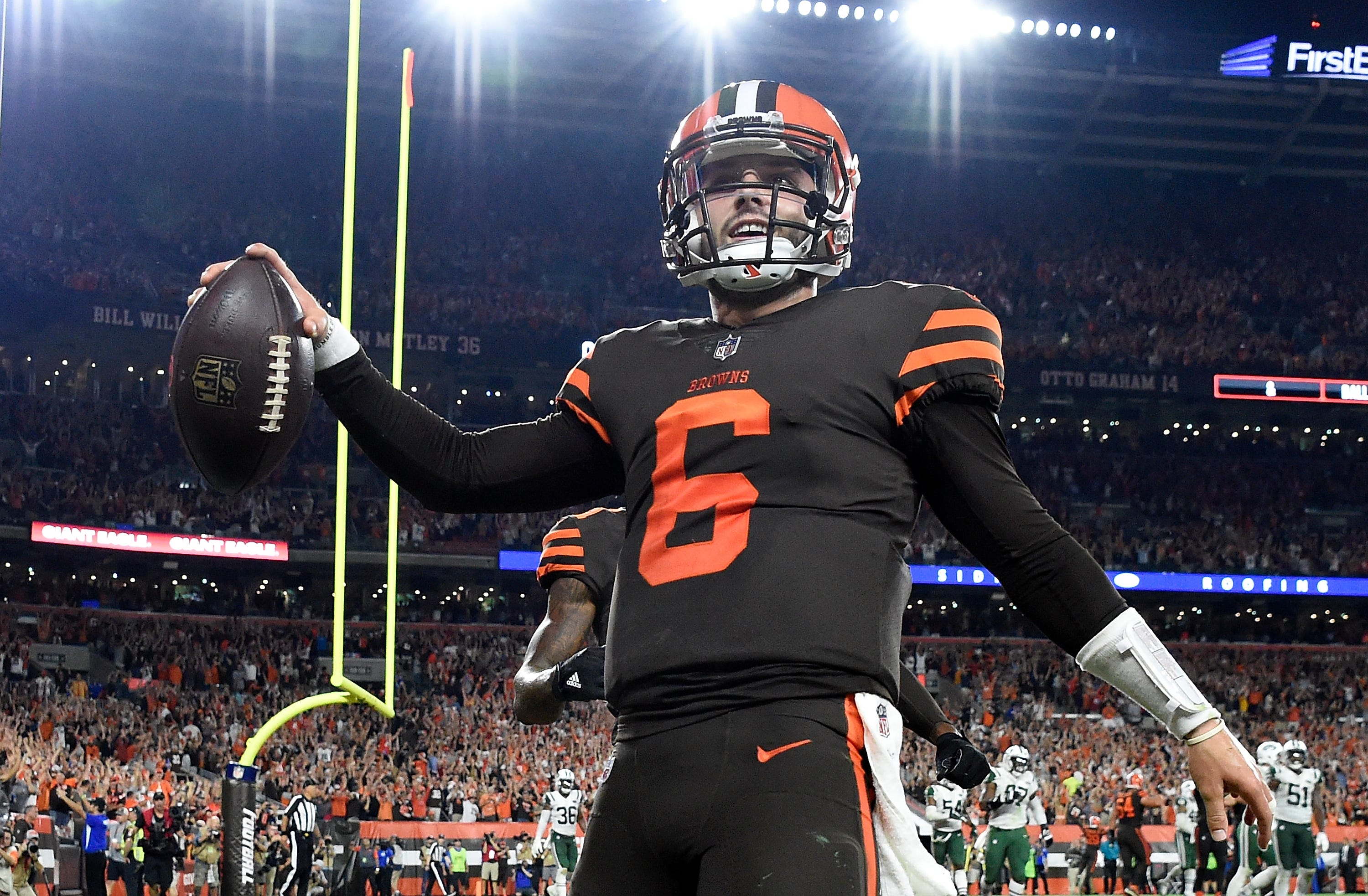 newest 31b80 165bc Cleveland Browns hope to wear color rush uniforms more in 2019