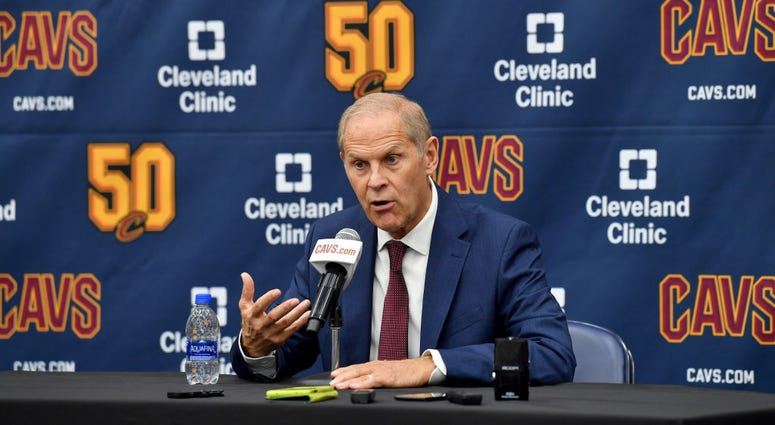 INDEPENDENCE, OHIO - SEPTEMBER 30: Head coach John Beilein of the Cleveland Cavaliers during Cleveland Cavaliers Media Day at Cleveland Clinic Courts on September 30, 2019 in Independence, Ohio. NOTE TO USER: User expressly acknowledges and agrees that, b