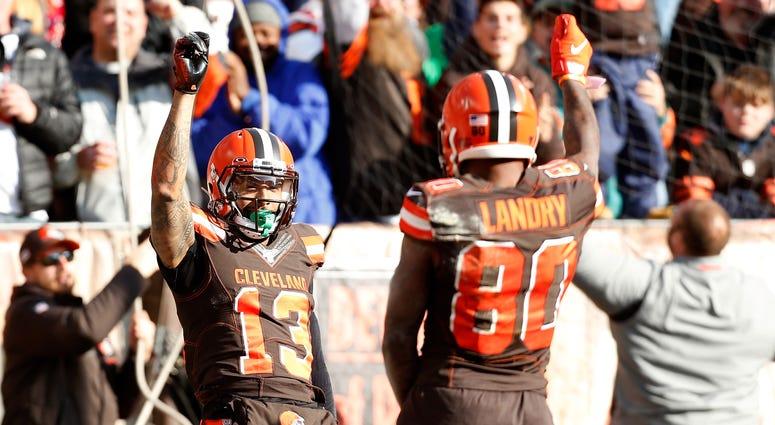 Jarvis Landry Odell Beckham Jr. Cleveland Browns