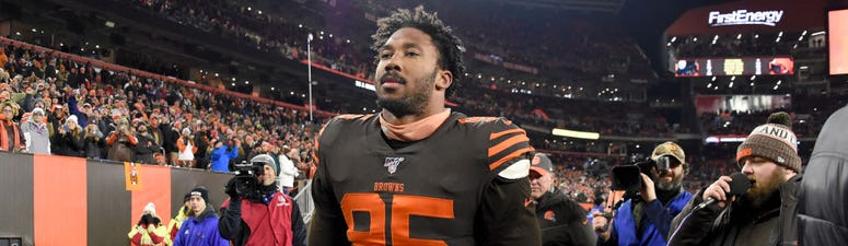 Joe Woods believes Myles Garrett in right mindset following reinstatement
