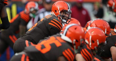 CLEVELAND, OHIO - DECEMBER 08: Baker Mayfield #6 of the Cleveland Browns plays against the Cincinnati Bengals at FirstEnergy Stadium on December 08, 2019 in Cleveland, Ohio. (Photo by Gregory Shamus/Getty Images)