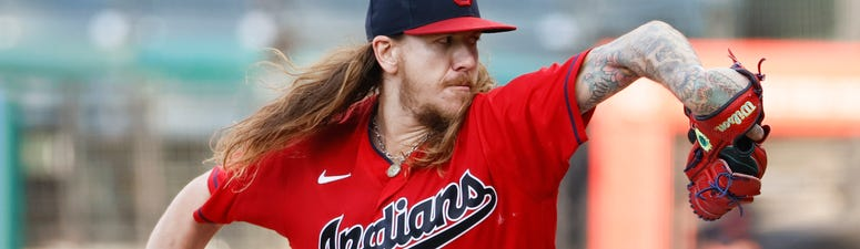 Mike Clevinger of the Cleveland Indians