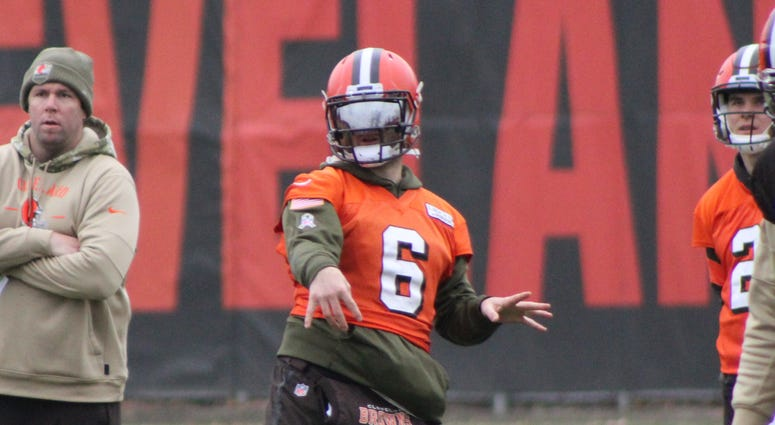 Baker Mayfield Cleveland Browns hand injury