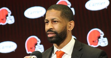 Cleveland Browns executive vice president of football operations and general manager Andrew Berry