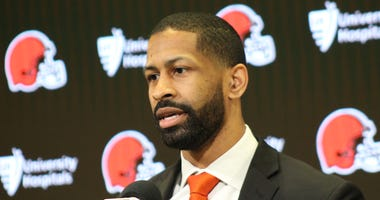 Andrew Berry is introduced as the new General Manager of the Cleveland Browns on February 5th, 2020