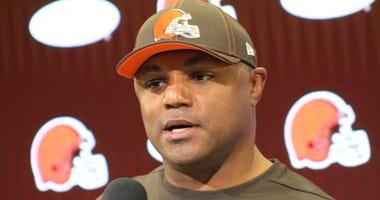 Joe Woods Cleveland Browns defensive coordinator