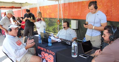 Cleveland Browns general manager speaks with Bull and Fox on 92.3 The Fan on Aug. 3, 2018.