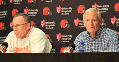 John Dorsey Jimmy Haslam Cleveland Browns fire Hue Jackson