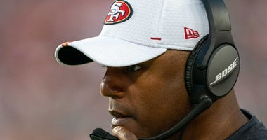 Browns defensive coordinator Joe Woods