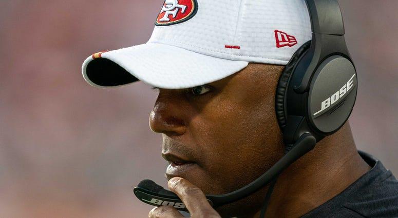Browns defensive coordinator Joe Woods