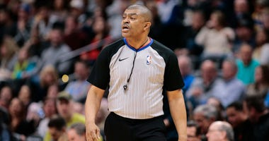 A file photo of NBA official Tony Brothers