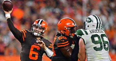 Cleveland Browns Baker Mayfield New York Jets