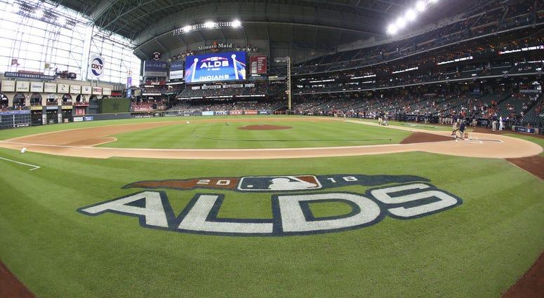 Minute Maid Park ALDS Cleveland Indians Houston Astros