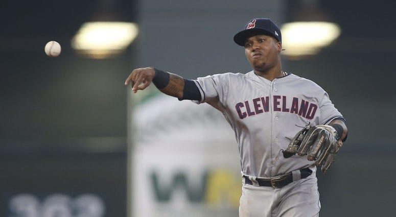 Jose Ramirez Cleveland Indians ALDS Game 1