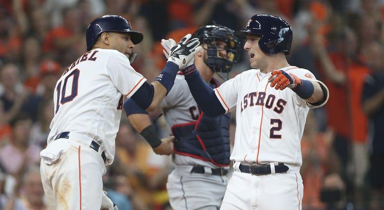 Alex Bregman Yuli Gurriel Houston Astros