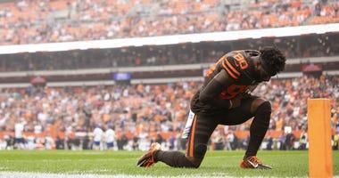 Browns receiver Jarvis Landry