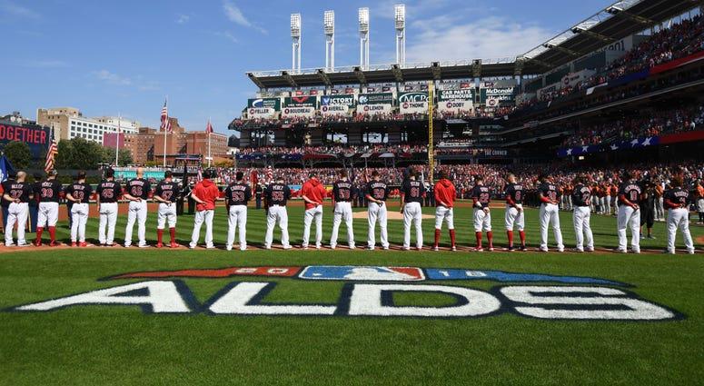 Indians ALDS lineup