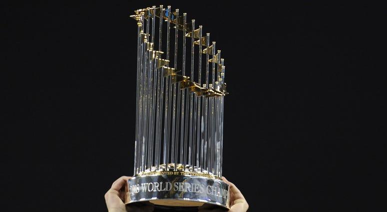 MLB Commissioners Trophy