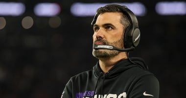 Minnesota Vikings offensive coordinator Kevin Stefanski