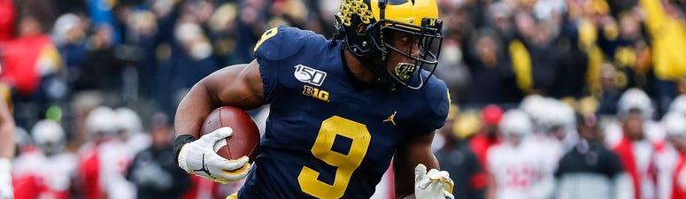 Donovan Peoples-Jones Michigan receiver