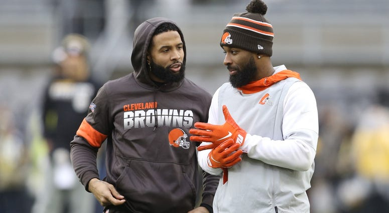Odell Beckham Jr and Jarvis Landry