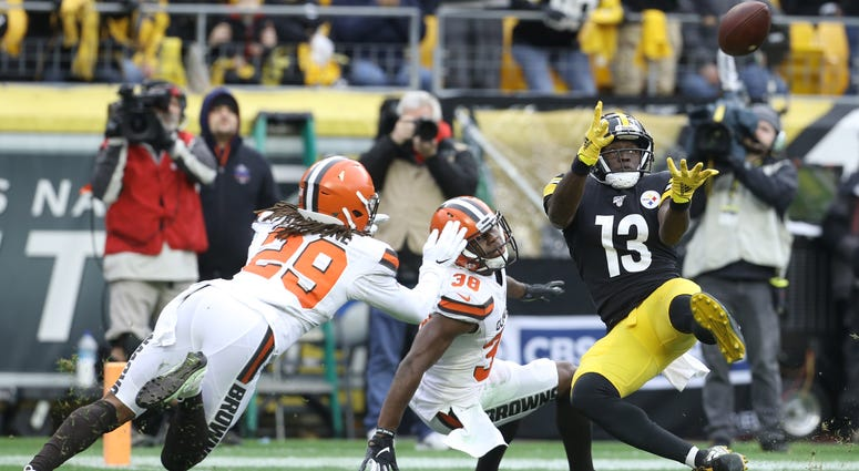 James Washington Pittsburgh Steelers Cleveland Browns