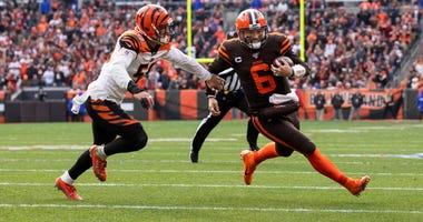 Baker Mayfield touchdown Cleveland Browns Cincinnati Bengals