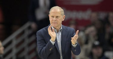 Dec 11, 2019; Cleveland, OH, USA; Cleveland Cavaliers head coach John Beilein reacts in the second quarter against the Houston Rockets at Rocket Mortgage FieldHouse. Mandatory Credit: David Richard-USA TODAY Sports