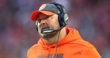 Cleveland Browns head coach Freddie Kitchens