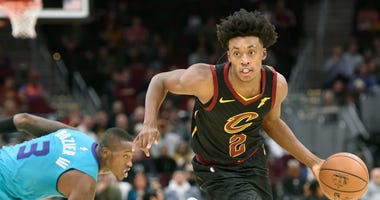 Cleveland Cavaliers guard Collin Sexton