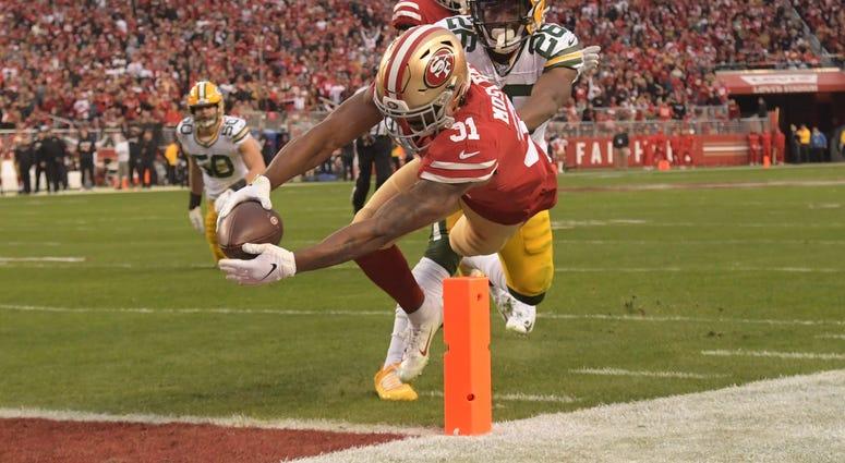 Raheem Mostert San Francisco 49ers 2020 NFC Championship