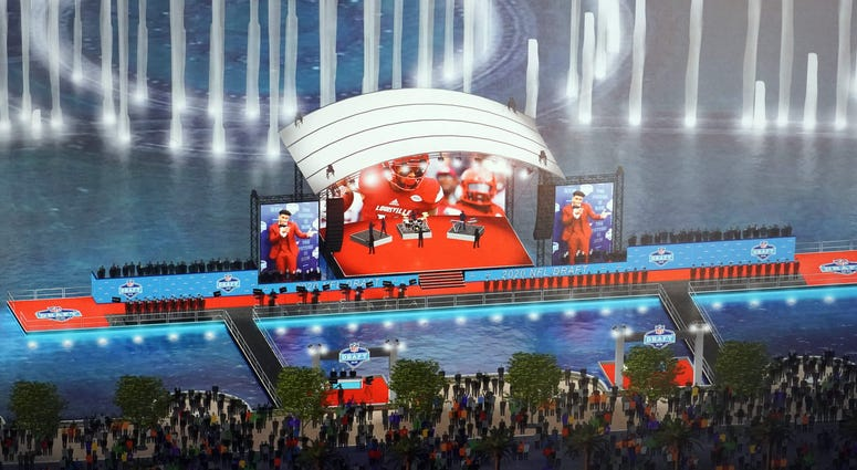 NFL draft 2020 stage