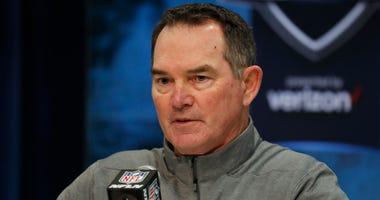 Mike Zimmer Minnesota Vikings head coach 2020 NFL Combine