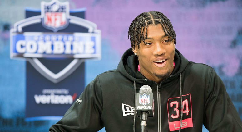 Isaiah Simmons at NFL Combine