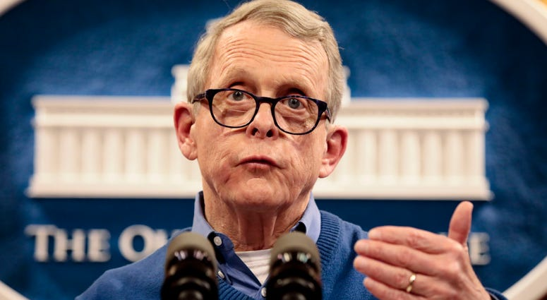 Ohio Gov. Mike DeWine speaks regarding COVID-19, or Coronavirus