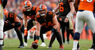 Cleveland Browns center JC Tretter