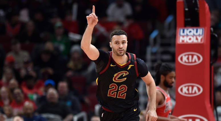 Larry Nance Jr. of the Cleveland Cavaliers