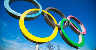 3/23/2020 - The Olympic Ring at the Queens Elizabeth Park, London. (Photo by PA Images/Sipa USA)