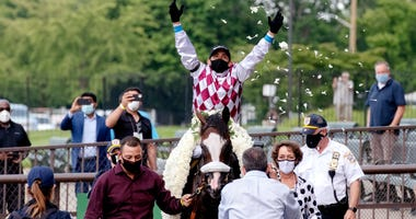 Tiz the Law wins 152nd Belmont Stakes
