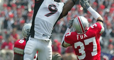 Ohio State defensive back Dustin Fox