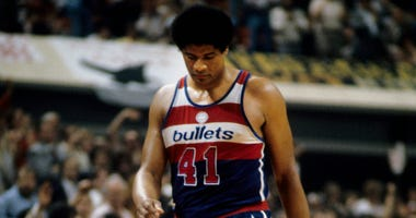 Unknown date; Atlanta, GA, USA; FILE PHOTO; Washington Bullets center Wes Unseld (41) against the Atlanta Hawks at The Omni. Mandatory Credit: Manny Rubio-USA TODAY Sports