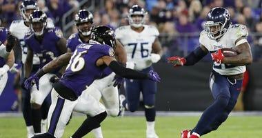 Titans running back Derrick Henry