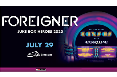 Foreigner: Juke Box Heroes 2020 Tour