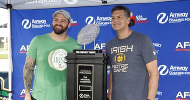 Mike Golic Jr. and Mike Golic Sr.