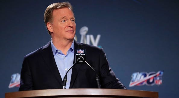 "Roger Goodell: ""We were wrong"" in handling player protests"